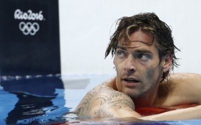 Camille Lacourt, nageur spécialiste dos (50 et 100 m)