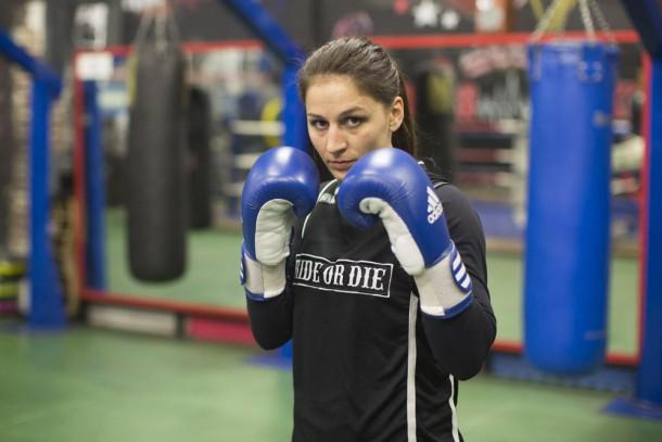 Lucie Bertaud boxeuse amateur française
