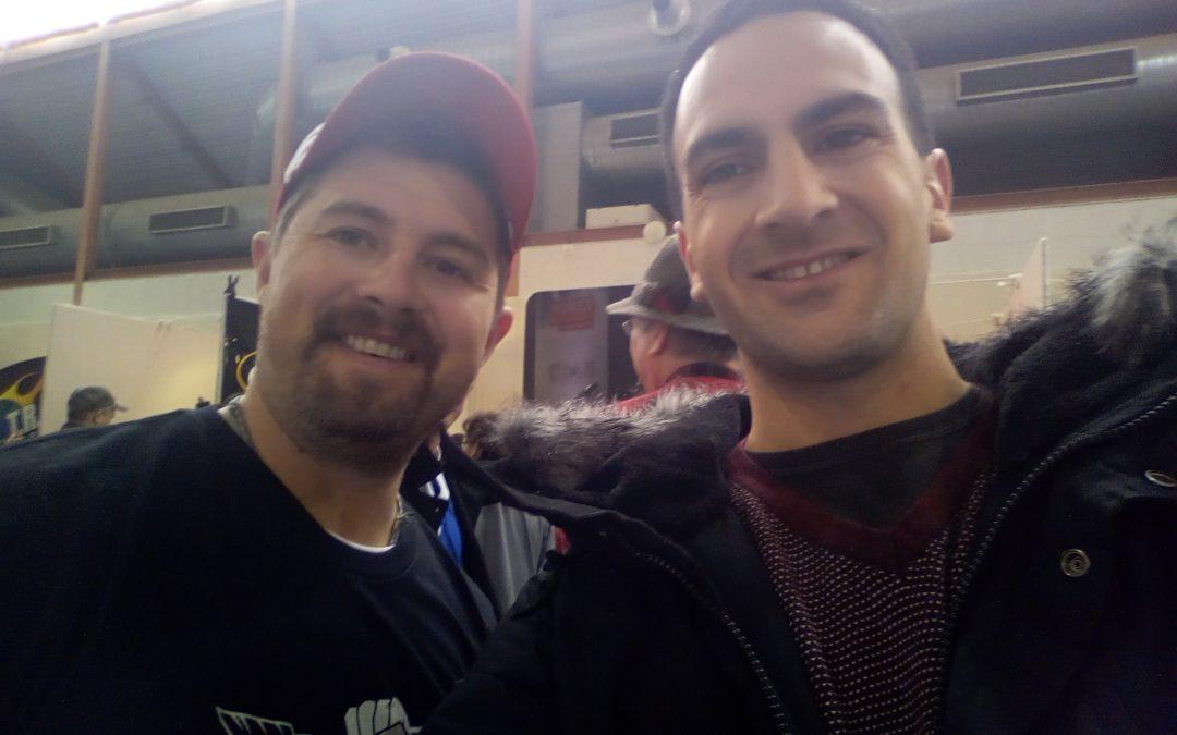 Retour sur mon passage au Nîmes archery tournament du 17 au 19 janvier 2020 et ma rencontre avec Brady Ellison archer Américain plusieurs fois champion du monde et  triple médaillé olympique.