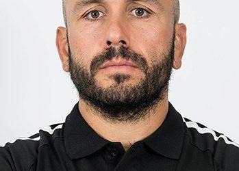 Mathieu Cidre entraîneur des avants US Carcassonne pro D2