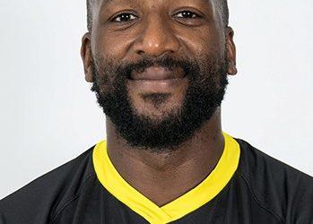Bakary Meïté troisième ligne US Carcassonne et capitaine de l'équipe de Côte d'Ivoire